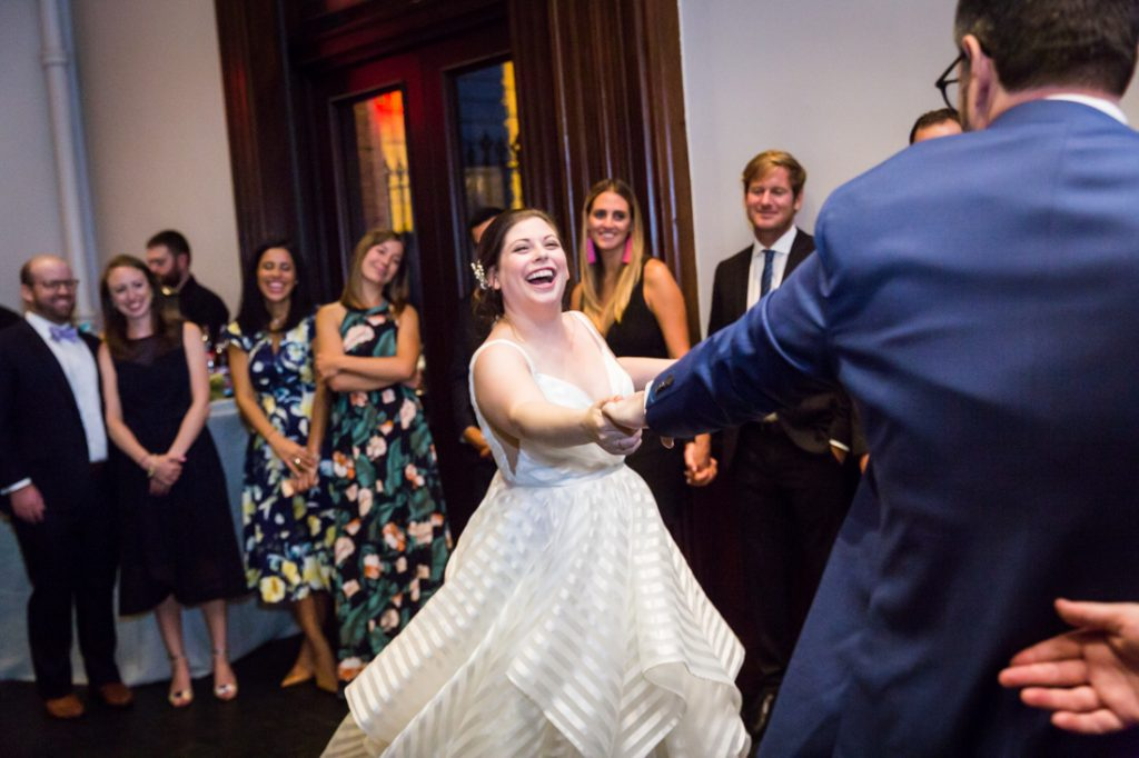 First dance at a Brooklyn Historical Society wedding