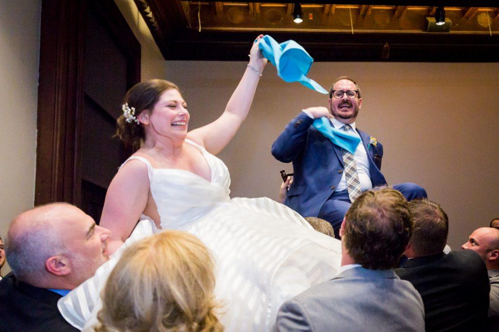 Hora dance at a Brooklyn Historical Society wedding