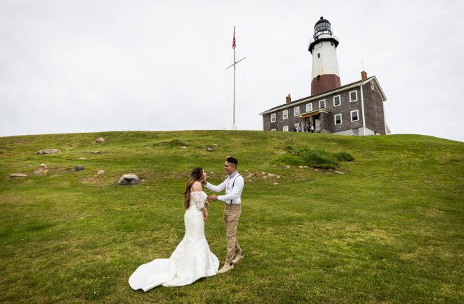First look for an article on Montauk Lighthouse wedding tips