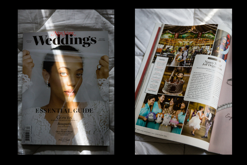 New York Magazine Weddings fall 2018 winter 2019 cover