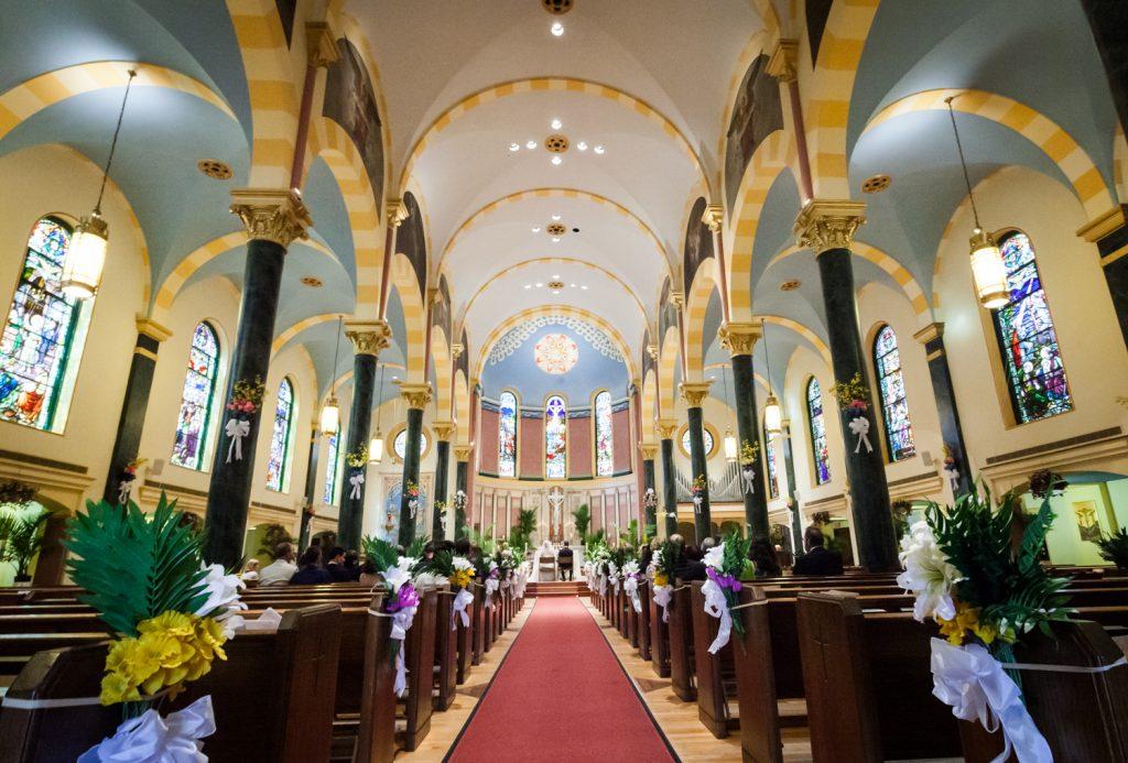 Interior of St. Joseph's Church in Astoria, Queens