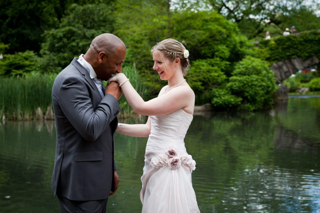 Brian and Niki's Central Park wedding photos by NYC wedding photojournalist, Kelly Williams