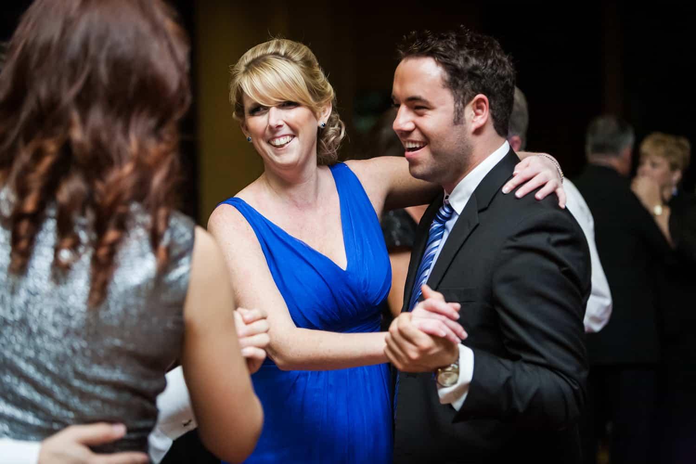 Couple dancing at a Nicotra's Ballroom wedding