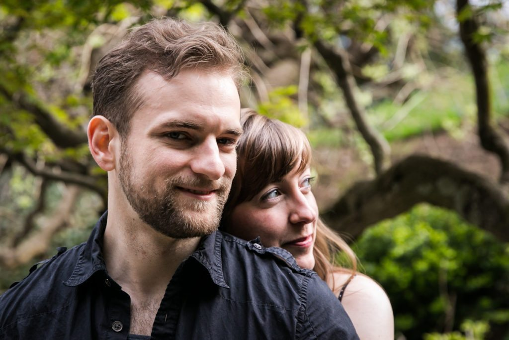 Brooklyn Botanic Garden engagement photos by Brooklyn wedding photographer, Kelly Williams