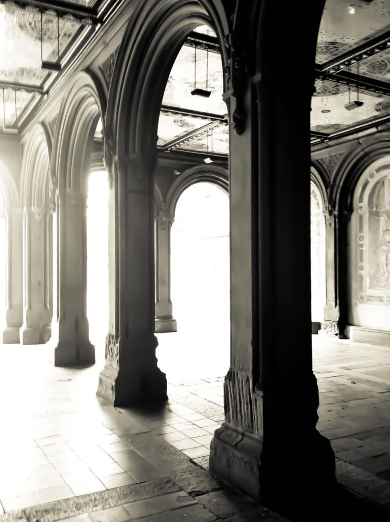 Bethesda Terrace in Central Park by photographer Kelly Williams