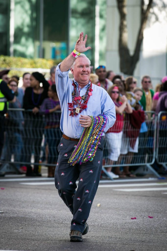The mayor of Tampa, Bob Buckhorn