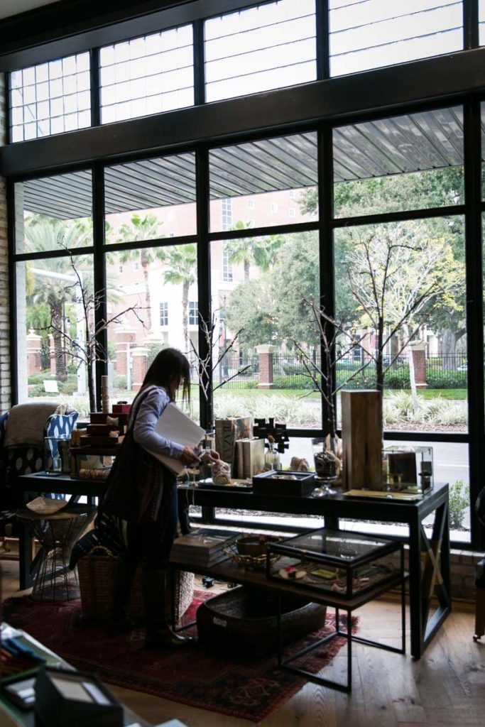 The shop of the Oxford Exchange in Tampa Florida
