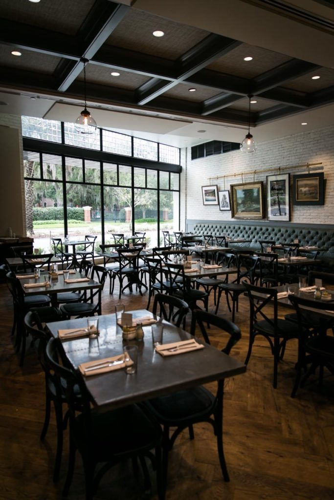 The restaurant at the Oxford Exchange in Tampa, Florida