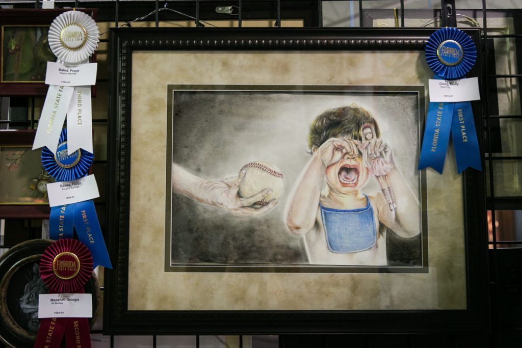 Competitions at the Florida State Fair, photographed by NYC photojournalist, Kelly Williams