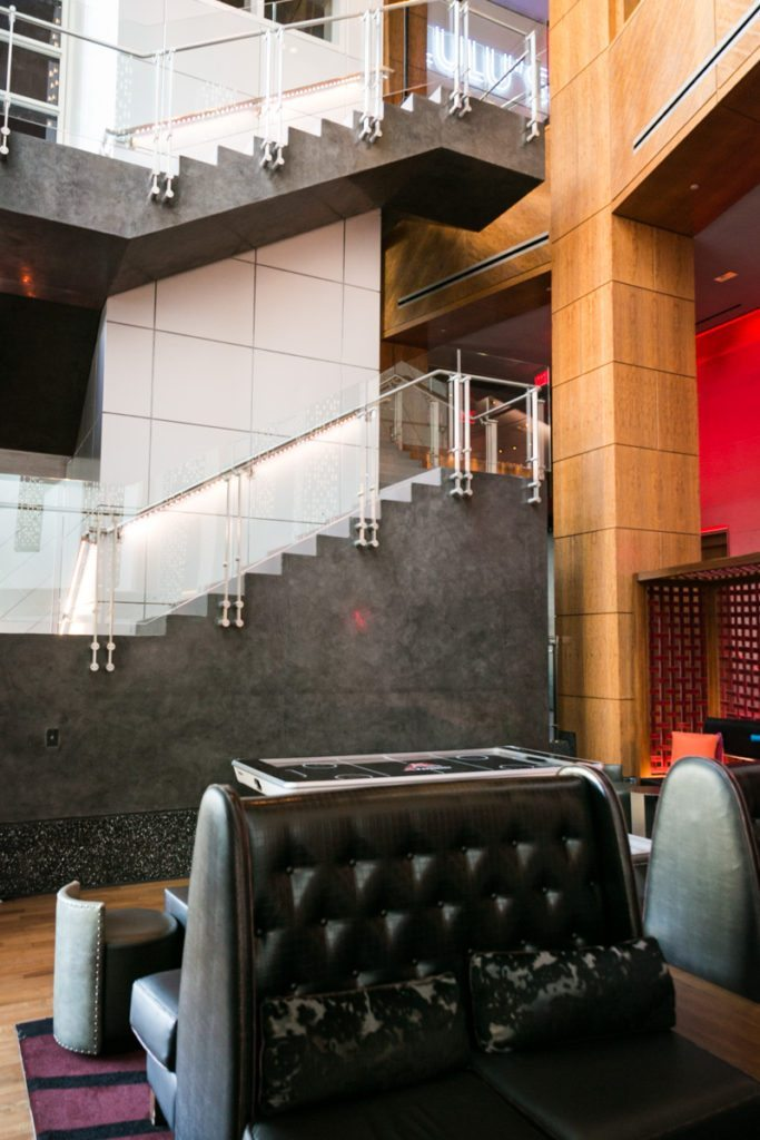 Photo of the W Hotel to accompany an article on venue checks by Hoboken wedding photographer, Kelly Williams