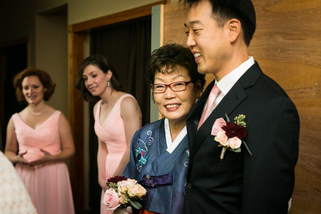 Ceremony photos, by Douglaston Manor wedding photographer, Kelly Williams