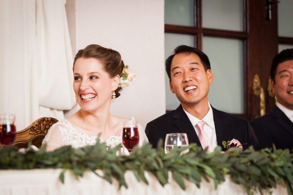 Toast photos, by Douglaston Manor wedding photographer, Kelly Williams
