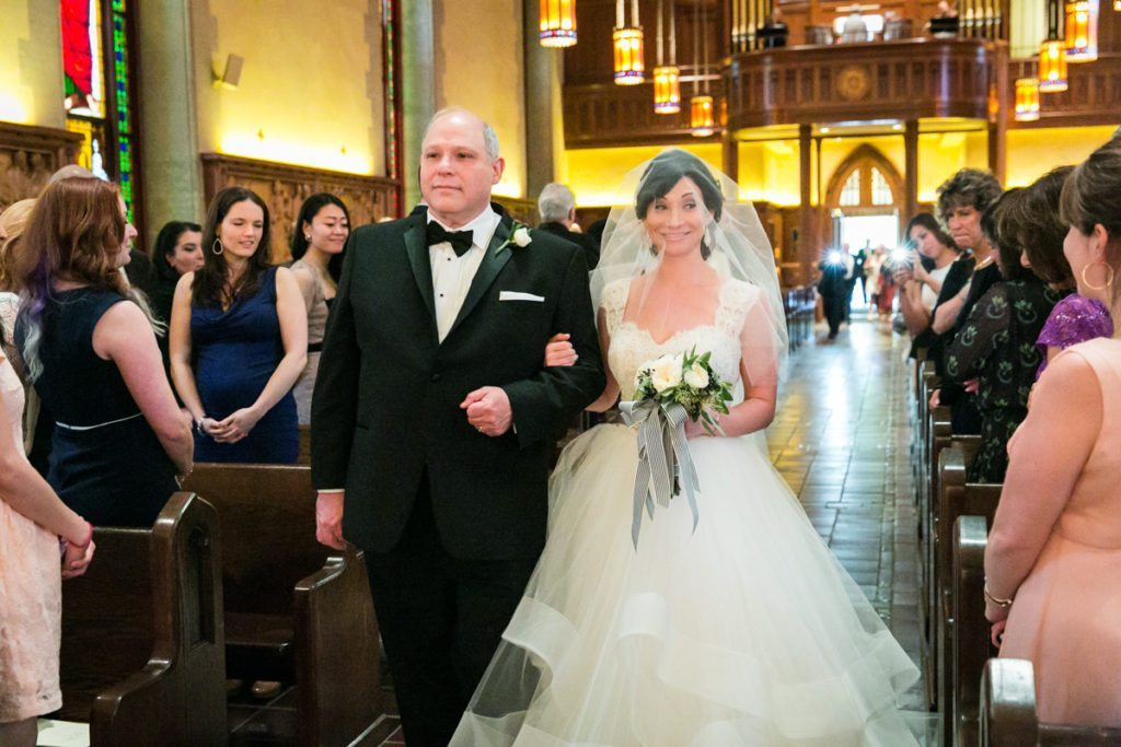 Fordham University Church wedding ceremony