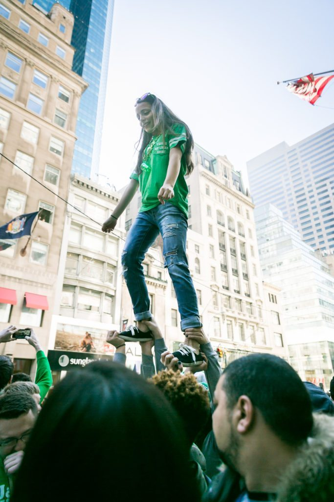 Photos from the 2016 St. Patrick's Day Parade in NYC by photojournalist, Kelly Williams