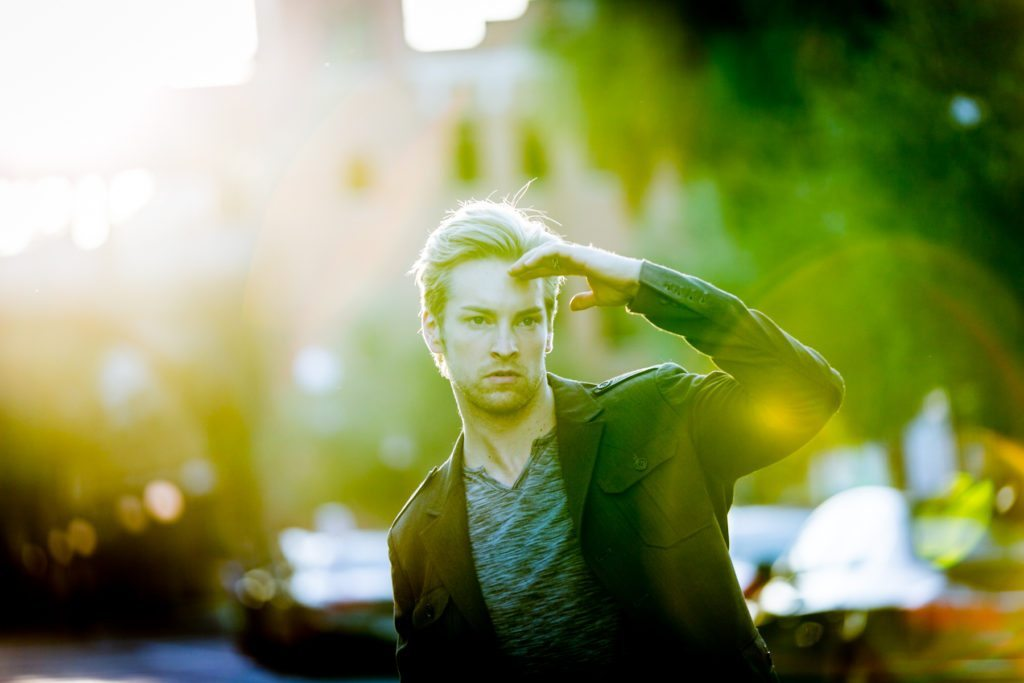 Florida fashion shoot photos of model Nicholas Kolasinski by NYC photographer, Kelly Williams