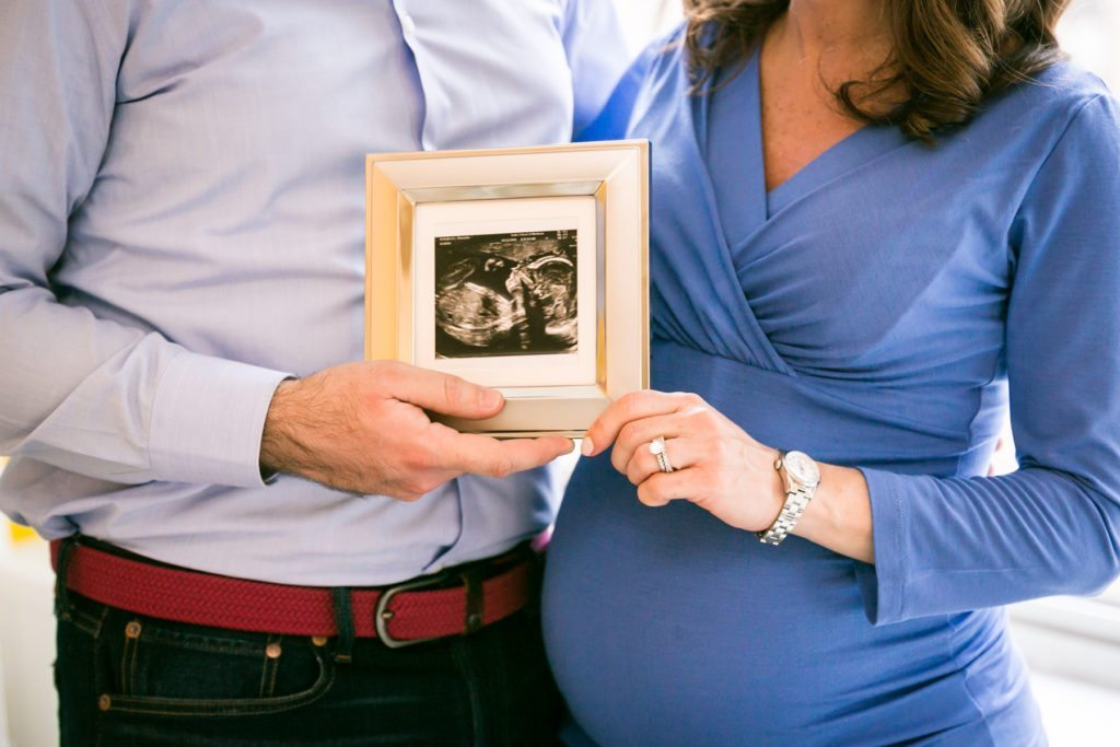 Baby sonogram by photojournalistic maternity photographer, Kelly Williams
