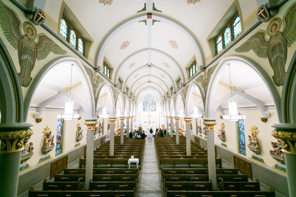 Interior of Our Lady of Mt. Carmel Church