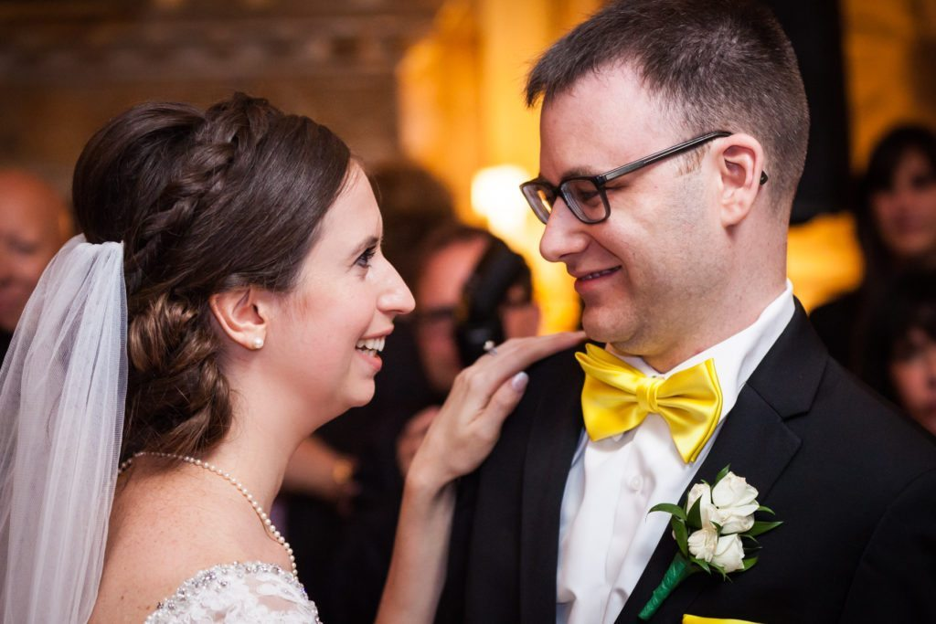First dance at a Columbus Citizens Foundation wedding by NYC wedding photojournalist, Kelly Williams