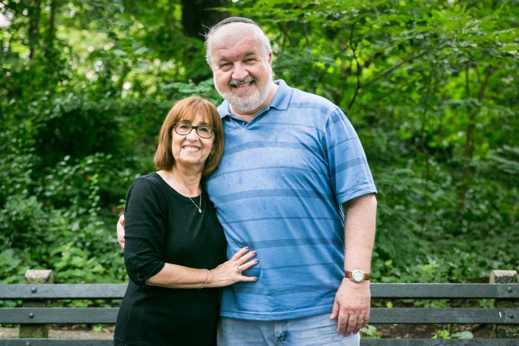 Older couple in Prospect Park