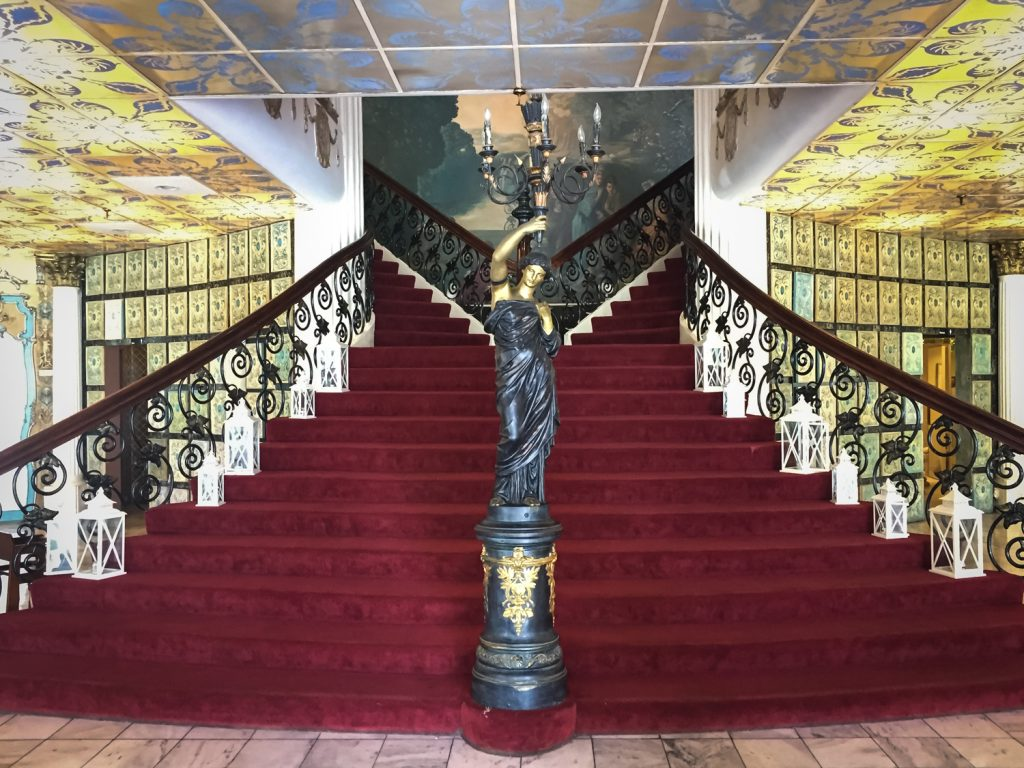 Kapok Tree Restaurant staircase
