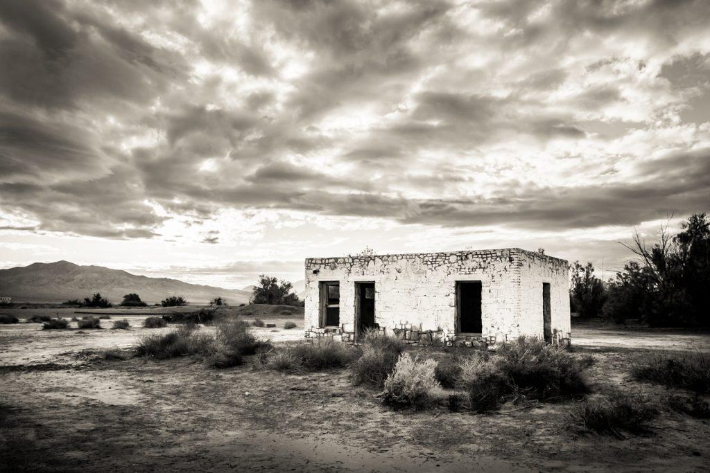 Abandoned house near the Amargosa Opera House
