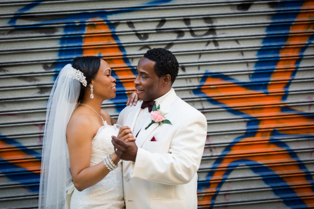 Bride and groom portraits at a Glen Terrace wedding