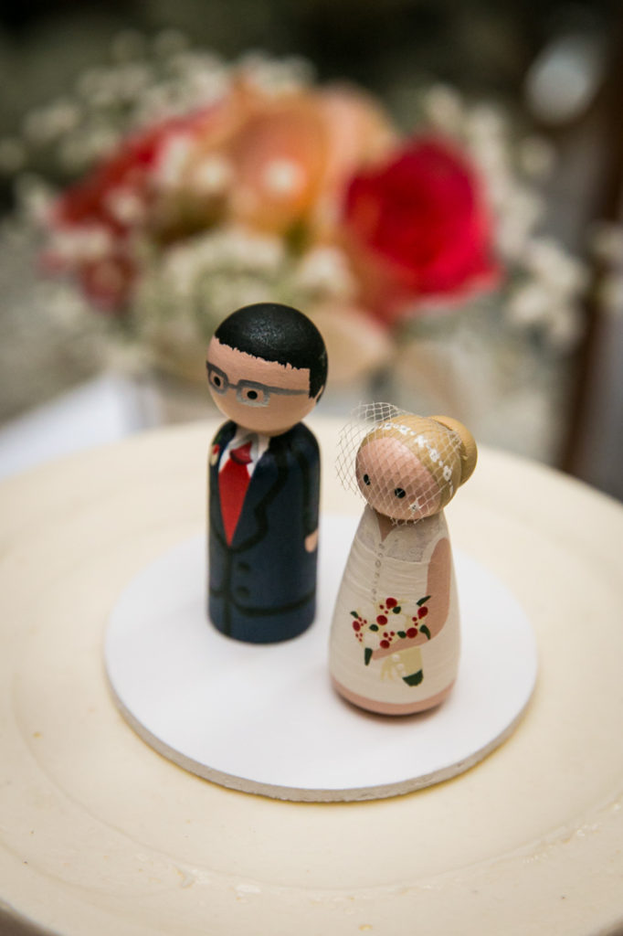 Cake toppers for a Scottadito wedding