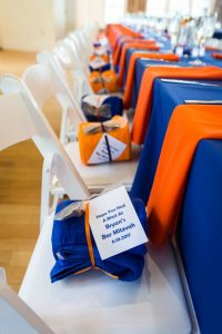 Guest gifts by bar mitzvah photographer, Kelly Williams
