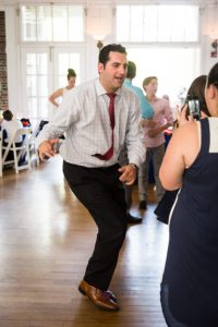 Guests dancing by bar mitzvah photographer, Kelly Williams