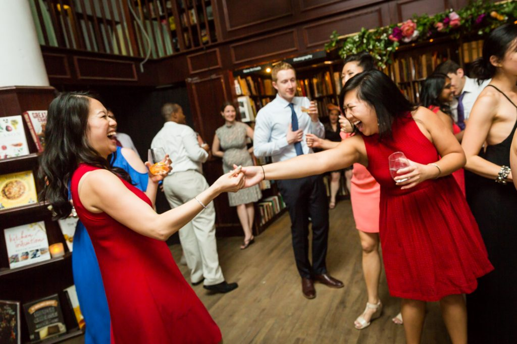 Dancing at a SoHo wedding