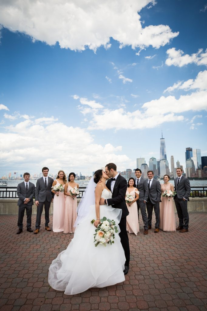 Bridal party photos at a Maritime Parc wedding