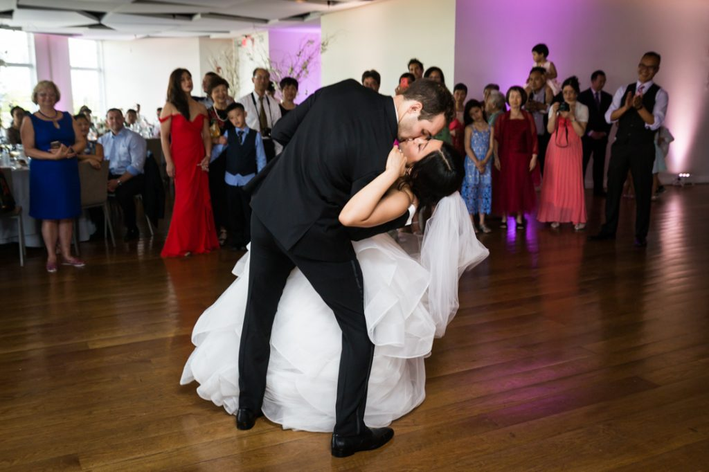 First dance at a Maritime Parc wedding