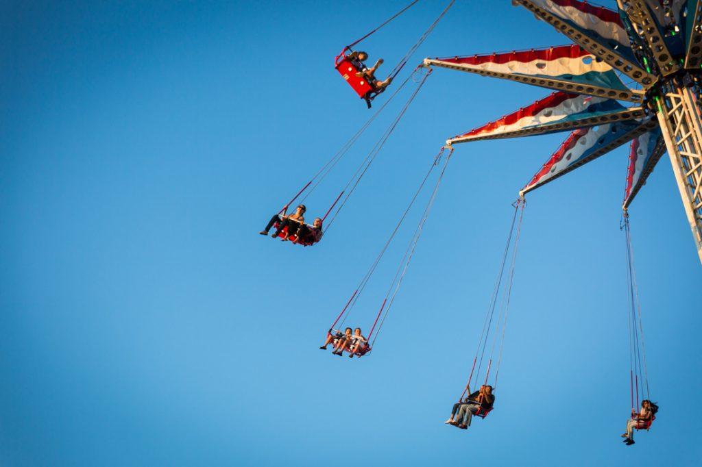 Coney Island amusement park ride
