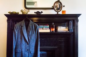 Groom's accessories for a Gallow Green wedding