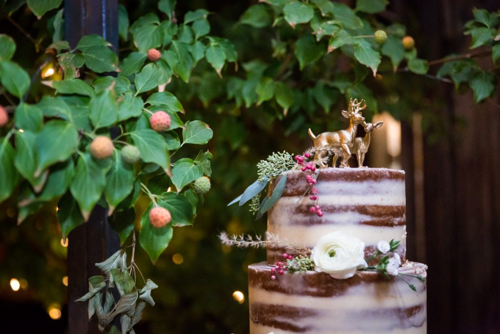 Wedding cake at at a Gallow Green wedding