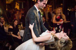 First dance at at a Gallow Green wedding