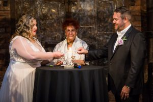 Candle lighting at a 26 Bridge wedding