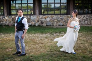 First look at a Bear Mountain Carousel wedding