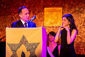 Ceremony at a bat mitzvah for an article on 'How to Find a Venue'