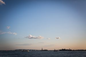 NYC waterfront for an article on public atriums as an option for NYC photo shoot locations