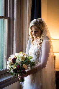 Bride for an article on bouquet and garter toss alternatives