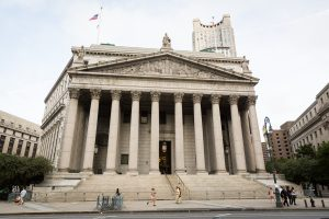 NY Supreme Court for an article on City Hall wedding portrait locations