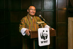 Speaker at World Wildlife Fund event