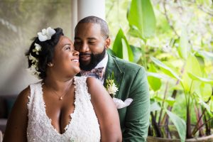 Bride and groom for an article on destination wedding photography tips