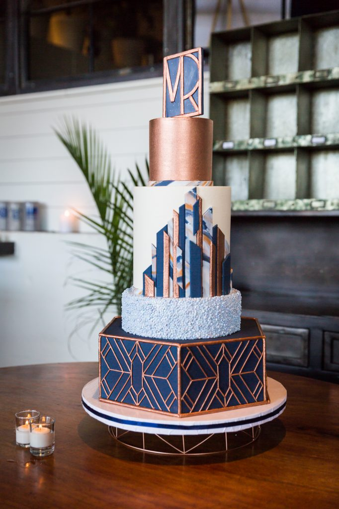 Cake at a same sex wedding celebration in Washington DC