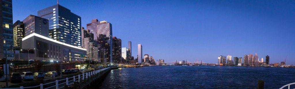 Manhattan skyline from The Water Club